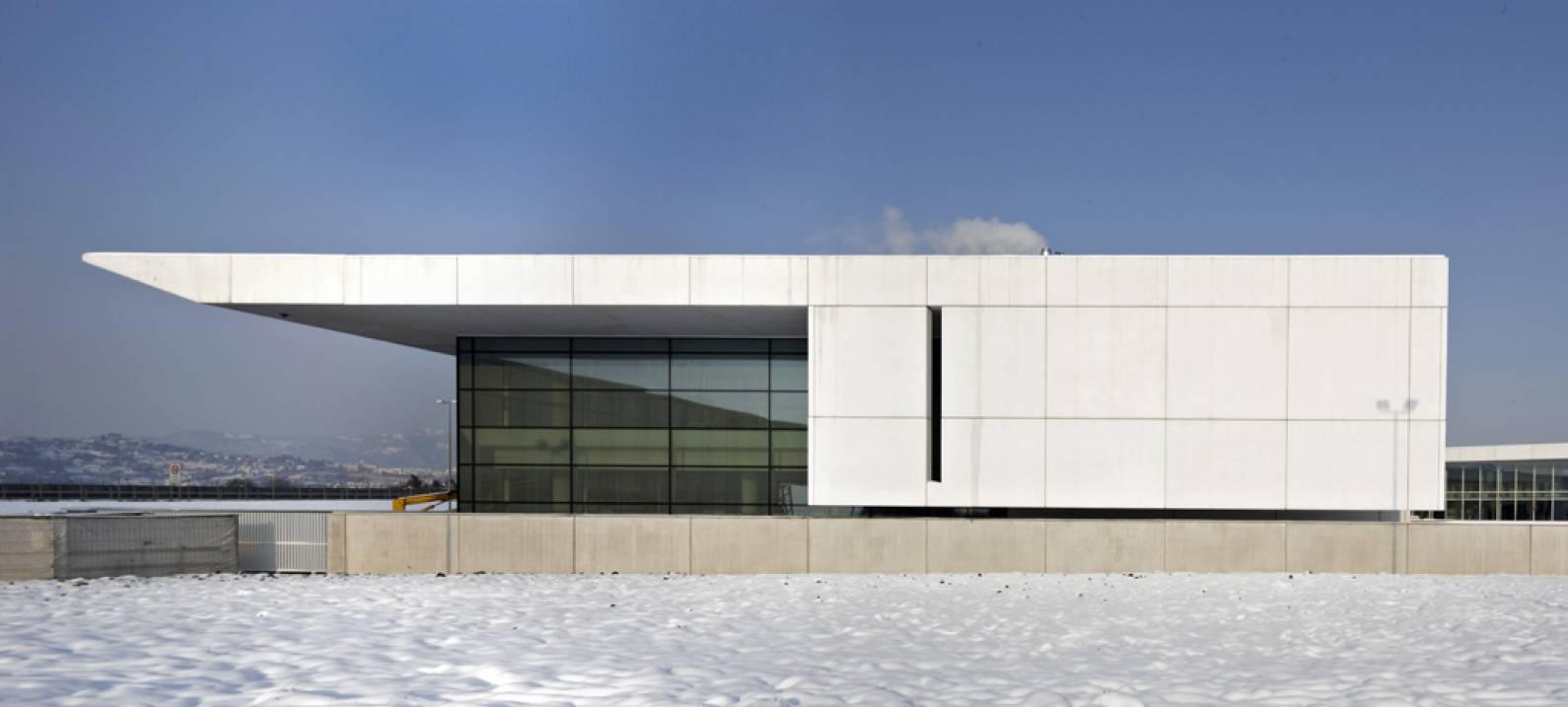 Bergamocult for Richard meier architetto